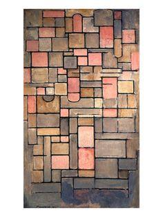 Mondrian: Composition by Piet Mondrian.