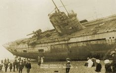 U-boat on a British Beach Even washed ashore, this WWI leviathan was still a dangerous. — Sola