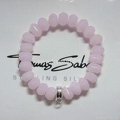 Thomas Sabo Bracelet Jewelry Bracelets, Jewelery, Hand Accessories, Rose Quartz Bracelet, Thomas Sabo, Girls Best Friend, Girly Things, Sparkles, Jewelry Collection
