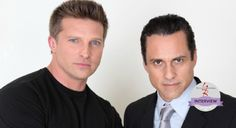 Anyone who watched Steve Burton as Jason Morgan on 'General Hospital' knows how close his onscreen relationship was with de-facto brother in arms Maurice Benard as Sonny Corinthos. But now 'The Young and The Restless' star Burton reveals Benard was a mentor to him behind the scenes as well. Burton