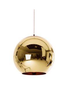Tom Dixon Copper Bronze hanglamp 45cm