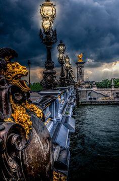 Paris,Pont Alexandre III by Rolf Thiborg on 500px