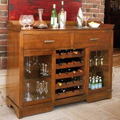 Kenwood wine bar light cherry