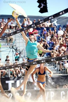 Kerri Walsh Jennings at our 2012 AVP Championships at West Beach in Santa Barbara, CA.