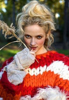 beautiful fall sweater. I picture waking up a cold fall morning and sipping on my hot cocoa outside on the porch...in my rocking chair... in this sweater :)