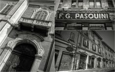"""Bologna Old Town - """"Intriguing Bologna... in Black and White"""" by @1step2theleft"""