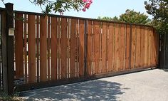 wooden and metal gates - Buscar con Google