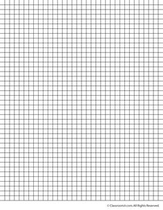 Printable Graph Paper and Grid Paper .25 Inch Grid Paper – Classroom ...