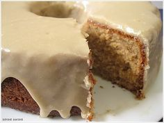 Brown Sugar Cake with Caramel Frosting