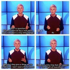 Ellen is brilliant