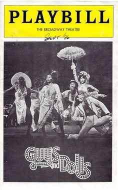 """CGMC Member Ryan Warner shares: """"Something #Motown I hadn't known... A 1976 revival of Guys and Dolls hit Broadway with an all African American cast, and it featured Motown-esque arrangements with a recording that was released on Motown records!"""""""