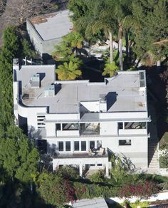 Adam Lambert's house -aerial view 2014
