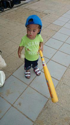 野球するの!!