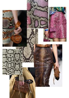 The leather trends for autumn/winter it will be exotic leather prints, glossy leathers and colourful leather. Corporate Attire Women, Curvy Petite Fashion, 2020 Fashion Trends, Fashion Blogs, Fashion Fashion, Fashion Forecasting, Workwear Fashion, Denim Trends, Fashion Fabric