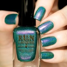 Fun Lacquer Ariel - holographic turquoise duochrome http://www.livelovepolish.com/collections/fun-lacquer/products/fun-lacquer-ariel-nail-polish