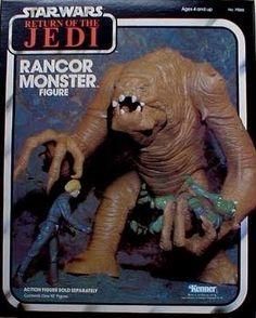 Rancor monster vintage 1984 by Kenner