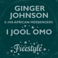 01 Ginger Johnson and His African Messengers - I Jool Omo [Freestyle Records] John Peel, Bbc Radio, World Music, Drums, African, My Love, Youtube, Percussion, Drum