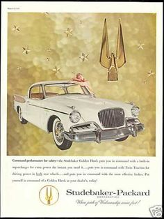 Studebaker Golden Hawk Photo Vintage Car (1957), My dad had one in Turquoise