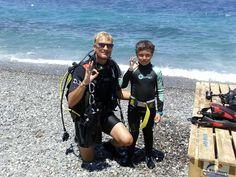 Dennis and a Bubblemaker Scuba Diving, Kos, Superhero, Diving, Snorkeling
