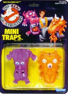 THE REAL GHOSTBUSTERS MINI TRAPS ACTION FIGURE