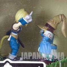 Final Fantasy IX 9 Diorama Figure Zidane VIVI Banpresto JAPAN SUARE ENIX GAME