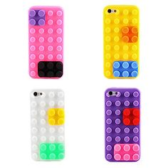 Toy Bricks Design Soft Case for iPhone 5 (Assorted Colors) $4.69 + Free shipping!