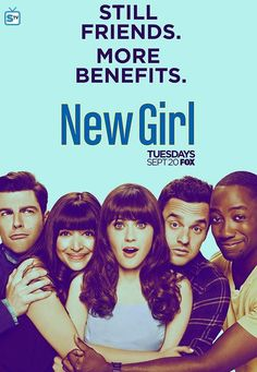 New Girl S6 Cast Promotional Poster