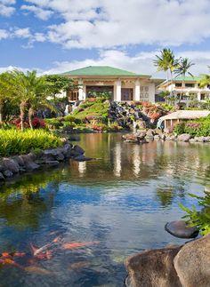 Grand Hyatt Kauai Resort & Spa kauai.hyatt.com   What a beautiful vacation spot 2012.