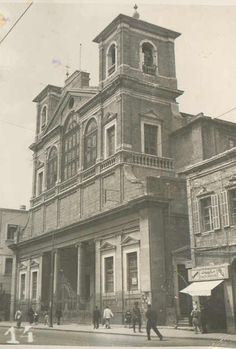 #Beirut - St-Georges Cathedral, Emir Bashir St. [1942] Church my parents where married in 1933