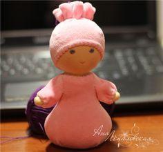 "Waldorf doll - ""Puska"" - Fair Masters - handmade, handmade"