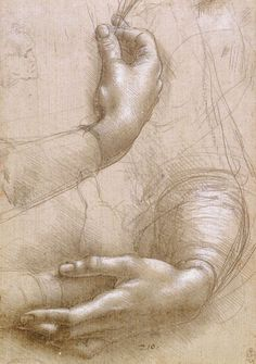 Study - Arms & Hands by Leonardo da Vinci
