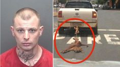 After a few days of intense searching, the man suspected of dragging an innocent pet dog behind his vehicle for over 5 miles ...