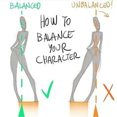 Drawing Tips How to balance your character pose to make it more believable? Awesome quick tip tutorial by . Check out his account for more great… - Drawing Reference Poses, Anatomy Reference, Drawing Poses, Drawing Tips, Manga Drawing, Drawing Ideas, Poses References, Character Poses, Drawing Techniques