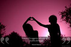 L'amore è la saggezza dello sciocco e la follia del saggio.