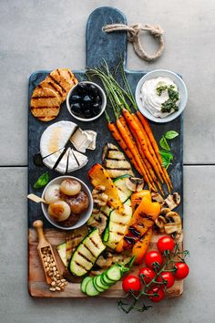 Loaded Vegan Antipasto Platter