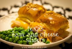 Texas Ham and Cheese Sliders by A Mom's Take