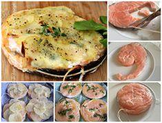 Medaglioni di Salmone e Patate | ricetta salmone al forno con crosta di patate…