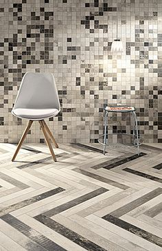 Fioranese Chevronchic Chevronchic-Fioranese-14 , Wood effect, Bedroom, Living room, PEI IV, Porcelain stoneware, wall & floor, Matte, Rectified, Shade variation V4