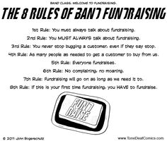 Rules Of Fundraising