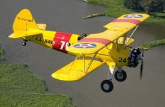 1942 Stearman - have seen these up close and personal - amazing plane!