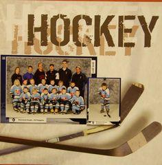 Hockey - Scrapbook.com