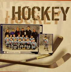 Hockey - Scrapbook.com