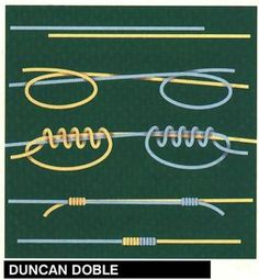 Doble duncan Nudo corredizo // Knots