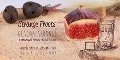 glaçons arrangés !!! Découvrez comment faire des glaçons arrangés à la Strange Froots  #cuisine #fooding #strangefroots #icecube #glaçon