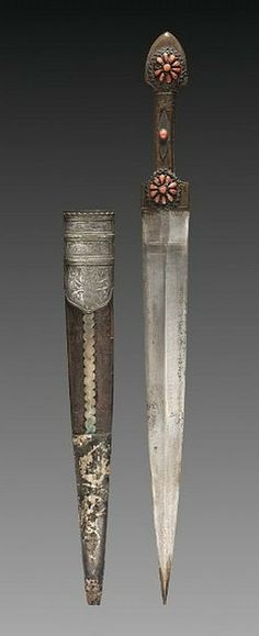 Kindjal Dagger.      Dated: probably 18th century.     Culture: Russian. Copyright 2013 © Cleveland Museum of Art