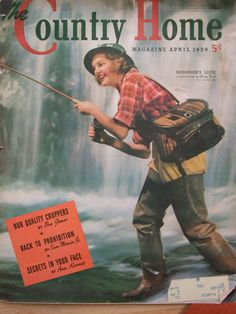 1939 Issue Country Home Magazine by OspreyHollowStudios on Etsy