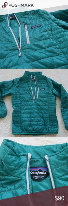 Patagonia Women's Nano Puff Pullover Small Gorgeous Emerald Green - Sold Out online - Size Small. Great condition! Patagonia Jackets & Coats Puffers