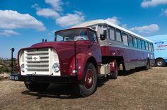 1950's DAF mobile school bus