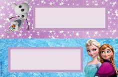 Frozen Kit 2 – Kit festa grátis para imprimir – Blog Inspire sua Festa ® Frozen Themed Birthday Party, 4th Birthday Parties, Frozen Party, Baby Birthday, Imprimibles Paw Patrol, Mickey Mouse Wallpaper, Kids Labels, Disney Frozen, Party Printables
