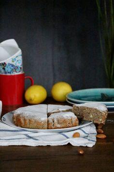 Healthy and vegan Almond Cake, Mandelkuchen - Zuckerfrei und vegan